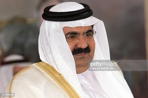Sheikh Hamad bin Khalifa al-Thani, emir of Qatar, attends the Gulf Cooperation Council summit in Riyadh 27 November 1999. Sheikh Hamad has ruled...