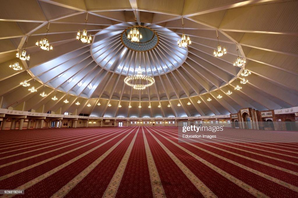 Sheikh Khalifa Bin Zayed Al Nahyan Mosque Interior In Shymkent News Photo Getty Images
