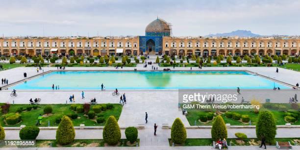 sheikh loftallah mosque, maydam-e iman square, unesco world heritage site, esfahan, iran, middle east - エスファハーン市 ストックフォトと画像
