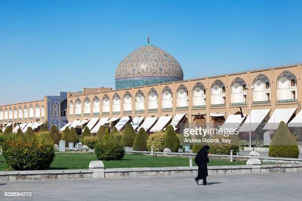 Sheikh Lotf Allah Mosque at Naqsh-e Jahan Square in Isfahan, Iran