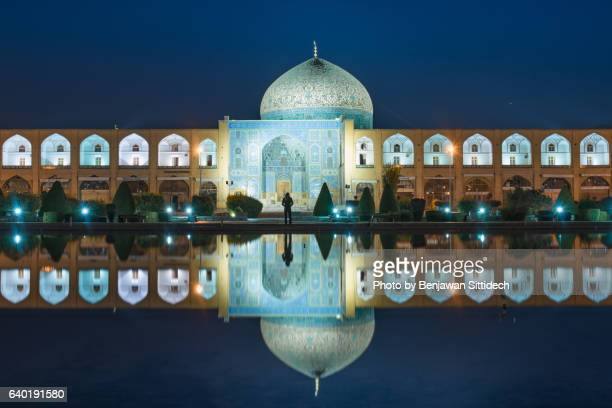 Sheikh Lotfollah Mosque at Naqsh-e-Jahan Square, Iran