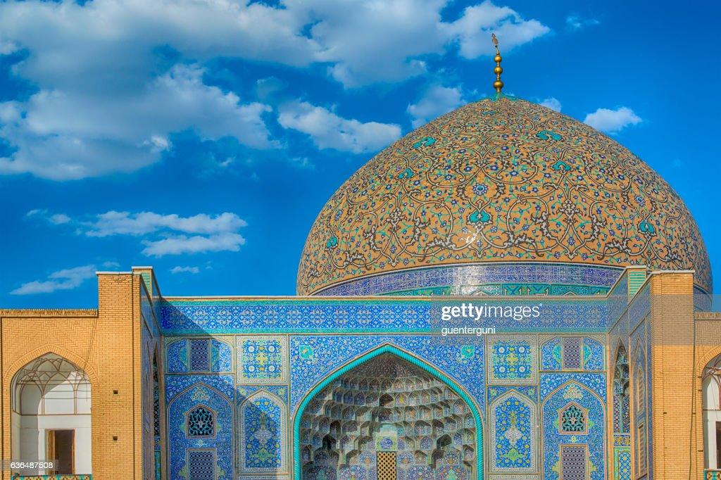 シェイク Lotfollah モスクの Isfahan 、イラン : ストックフォト