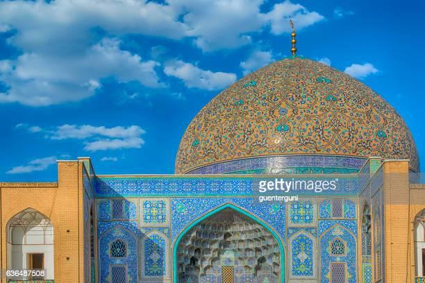 Sheikh Lotfollah Mosque in Isfahan, Iran