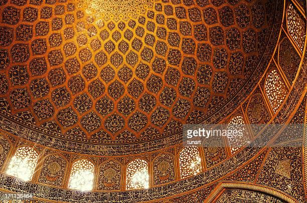 シェイク lotfollah モスク、isfahan 、イランます。 - シェイフロトフォラモスク ストックフォトと画像