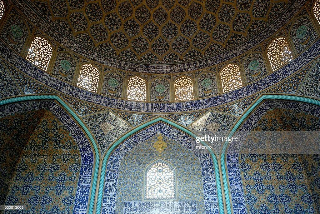Sheikh Lotfollah Mosque, Isfahan : Stock Photo