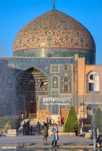 Sheikh Lotfollah Mosque, Naghsh-e Jahan Square, Isfahan, Iran
