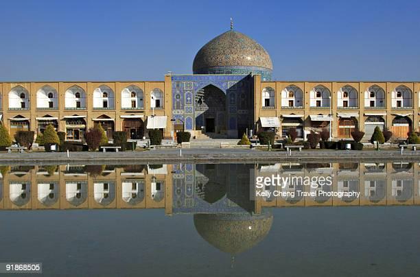 sheikh lotfollah mosque - シェイフロトフォラモスク ストックフォトと画像