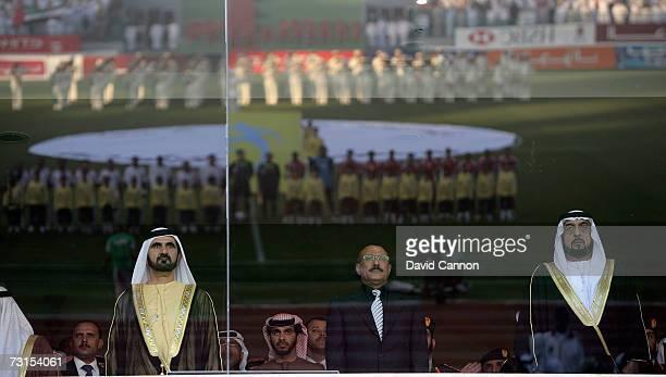 Sheikh Mohamed Bin Rashid Al Maktoum the Crown Prince and Ruler of Dubai , Ali Abdullah Saleh, President of Yemen and Sheikh Khalifa Bin Zayed Al...