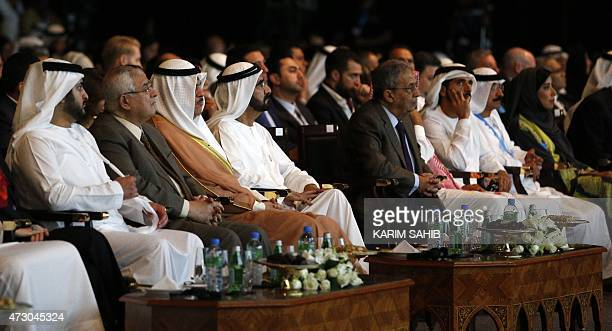 Sheikh Mohammed bin Rashid alMaktoum Prime Minister of the United Arab Emirates and ruler of Dubai and Amr Mussa former Arab League General Secretary...