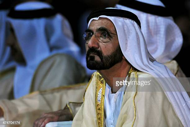 Sheikh Mohammed bin Rashid alMaktoum Prime Minister of the United Arab Emirates and ruler of Dubai attends the presentation of the UAE Space Agency's...
