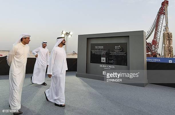 Sheikh Mohammed Bin Rashid al-Maktoum , Ruler of Dubai, Mohammad Alabbar , chairman of Emaar Properties and Sheikh Hamdan bin Mohammed bin Rashid...