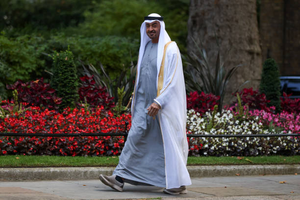 GBR: U.K. PM Johnson Hosts Abu Dhabi Crown Prince Mohammed bin Zayed