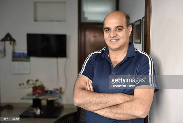 Sheikh Mushtaq former Reuters Journalist at his house in Lajpat Nagar on April 2 2018 in New Delhi India According to Sheikh Mushtaq for whom Kabli...