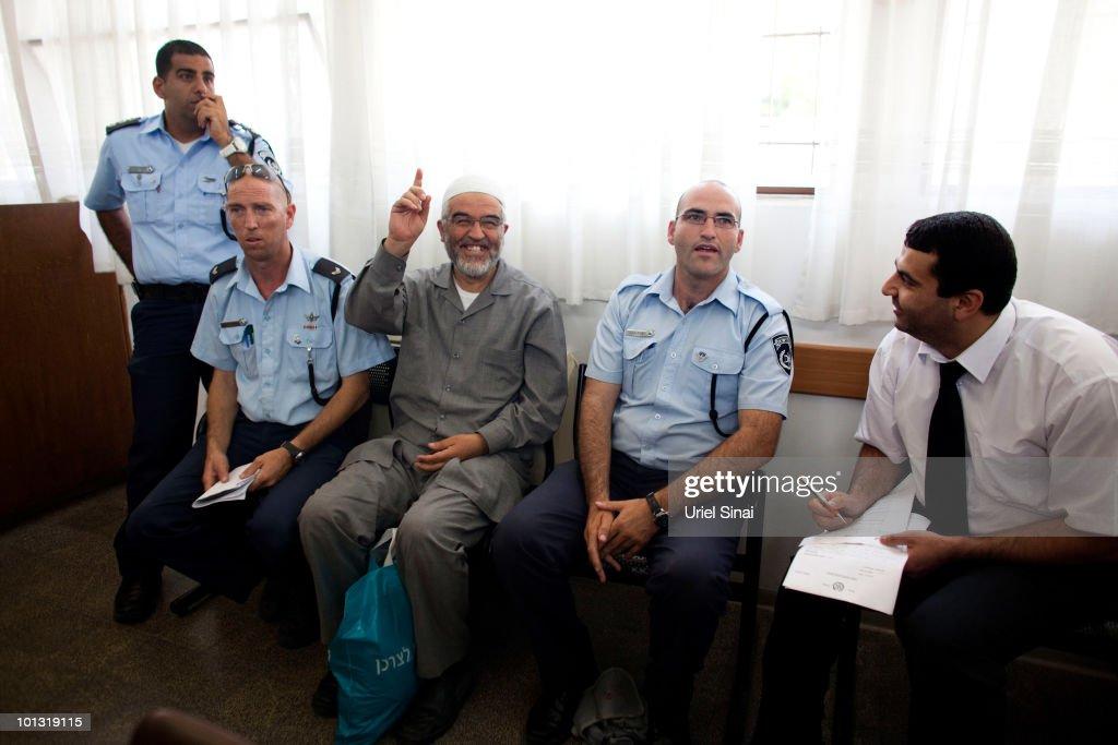 Sheikh Raed Salah Attends Ashkelon Magistrates Court