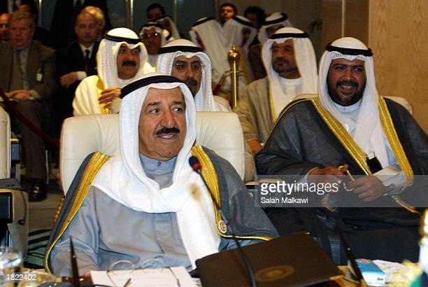 Sheikh Sabah Ahmad al-Sabah the Deputy Prime Minister and Foreign Minister heads the Kuwaiti delegation to the Arab Summit in Sharm el-Sheikh, Egypt...