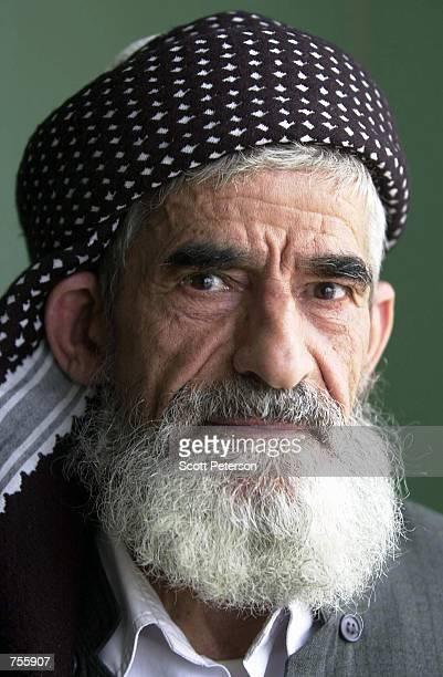 Sheikh Sadiq Abdulaziz poses for a portrait March 29 2002 in Halabja northern Iraq Abdulaziz is the deputy leader of the Islamic Movement of...