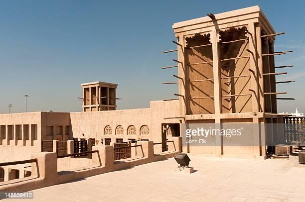 Sheikh Saeed House, wind tower, Shindaga quarter.