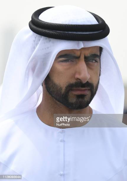 Sheikh Salem Bin Abdul Rahman Al Qasimi Director of the office of His Highness the Ruler of Sharjah seen at the start line of the fifth Sharjah Stage...