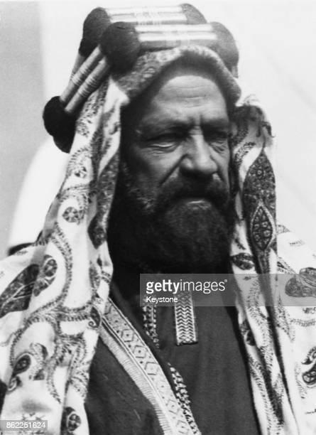 Sheikh Salman Bin Hamad Al Khalifa I the ruler of Bahrain circa 1945