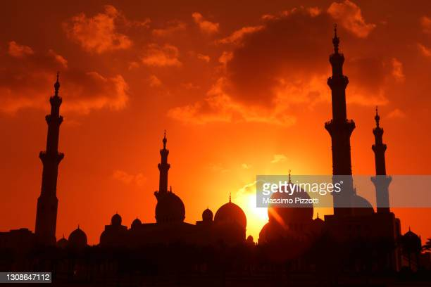 sheikh zayed grand mosque, abu dhabi - massimo pizzotti foto e immagini stock