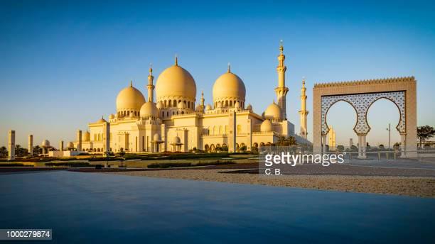 Sheikh Zayed Grand Mosque in Abu Dhabi 15