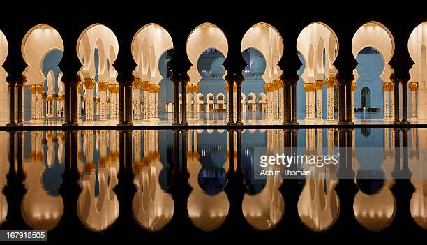 sheikh zayed grand mosque - sheikh zayed mosque stock pictures, royalty-free photos & images