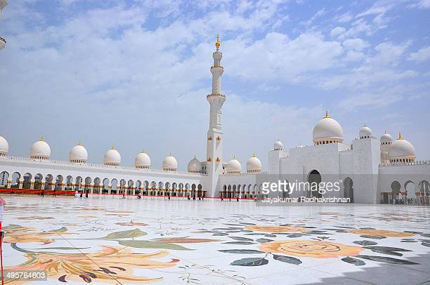 CONTENT] Sheikh Zayed Mosque in Abu Dhabi United Arab Emirates It is called Grand Mosque and also country's largest mosque It has historical and...