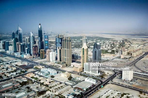 Sheikh Zayed Road Dubai United Arab Emirates May 2007