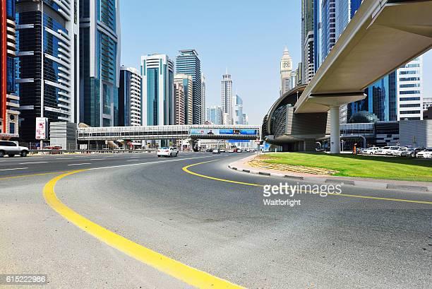 Sheikh Zayed Road in Dubai