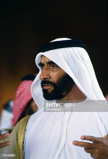 Sheikh Zayed Ruler of Abu Dhabi United Arab Emirates
