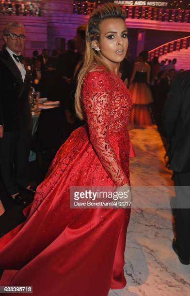 Sheikha Aisha Al Thani attends the amfAR Gala Cannes 2017 at Hotel du CapEdenRoc on May 25 2017 in Cap d'Antibes France