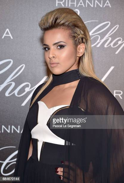 Sheikha Aisha Al Thani attends the Chopard dinner in honour of Rihanna and the Rihanna X Chopard Collection during the 70th annual Cannes Film...