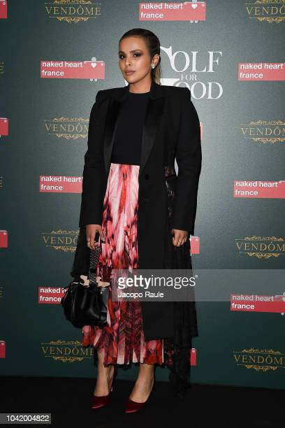 Sheikha Aisha Al Thani attends the Naked Heart France Gala Dinner as part of the Paris Fashion Week Womenswear Spring/Summer 2019 at Le Boeuf Sur Le...