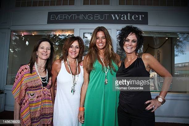 Sheila Arnold, Vice President of Stores Michele Fichter, Author and Model Kelly Killoren Bensimon, Director of Store Operations Audrey Jimenez attend...