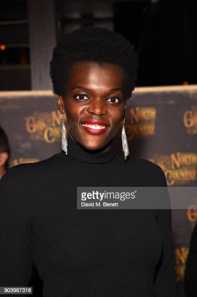 Sheila Atim attends the after party of Bob Dylan and Conor McPherson's 'Girl from the North Country' at Mint Leaf following a sell out critically...