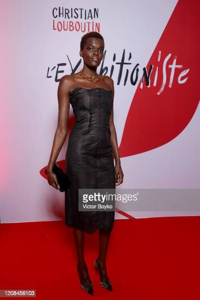 Sheila Atim attends the Exhibition Opening of L'Exibition[niste] by Christian Louboutin as part of Paris Fashion Week Womenswear Fall/Winter...