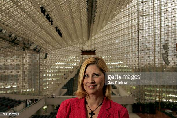 Sheila Coleman at the Crystal Cathedral in Garden Grove on June 12, 2009. She is the daughter of Robert Schuller, Sr., founder of the Crystal...