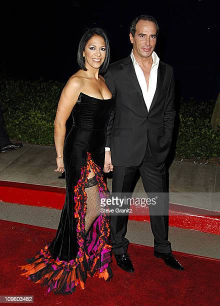 Sheila E and Lloyd Klein during Elevate Hope Foundation 'Circle of Passion' Arrivals at Astra Lounge in West Hollywood California United States