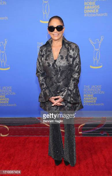 Sheila E attends Jackie Robinson Foundation Robie Awards Dinner at Marriot Marquis on March 02 2020 in New York City