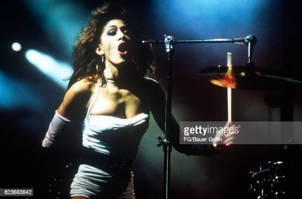 Sheila E during a Prince Lovesexy concert in London on July 28 1988 in London United Kingdom 170612F1