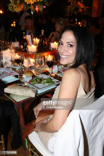 Sheila E during Hennessy Dinner to Announce the 2006 Alma Awards Hosted by Eva Longoria at Park Plaza Hotel in Los Angeles California United States