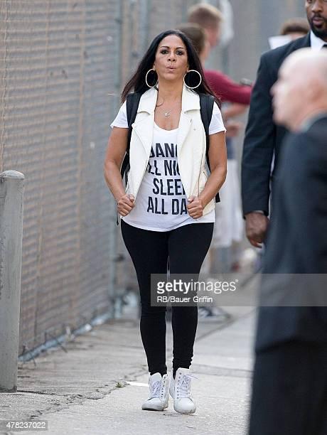 Sheila E is seen in Los Angeles on June 23 2015 in Los Angeles California
