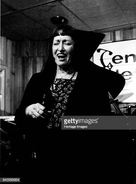 Sheila Jordan Tenor Clef Hoxton Square London May 1992 Artist Brian O'Connor