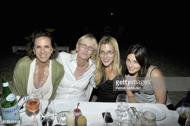 Sheila Kelley Krupinski Dolly Lenz and Jenny Lenz attend MARTHA STEWART and HARRY SLATKIN Birthday Celebration and Dinner at NAVY BEACH on August 20...