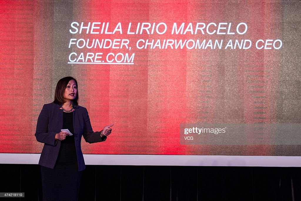 Sheila Lirio Marcelo, founder and Chief Executive Officer Care.com, attend the Global Women Entrepreneurs Conference on May 21, 2015 in Hangzhou, Zhejiang province of China. The Global Women Entrepreneurs Conference will be attended by Arianna Huffington, Didi Kuaidi Dache, Jessica Alba and actress Vicki Zhao amoung others.