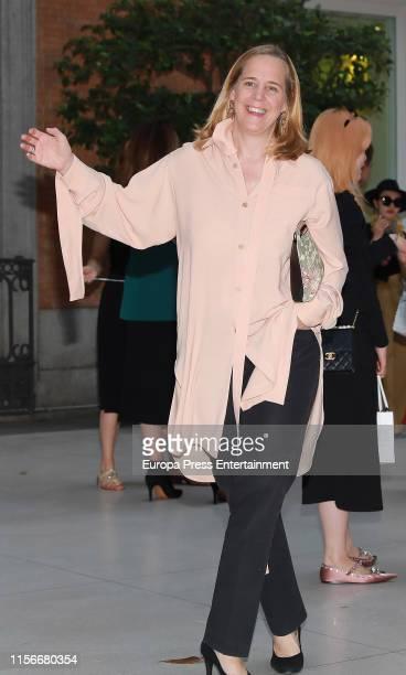 Sheila Loewe attends 'Balenciaga Y La Pintura Española' exhibition opening on June 17 2019 in Madrid Spain