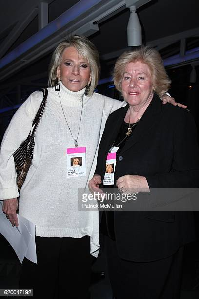 Sheila Nevins and Egidiana Maccioni attend Premiere of the HBO Documentary LE CIRQUE A TABLE IN HEAVEN at Le Cirque on December 3 2008 in New York...