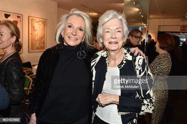 Sheila Nevins and Nancy Newhouse attend Joan Kron's 90th Birthday 'Take My NosePlease' Release Party at Michael's on January 7 2018 in New York City