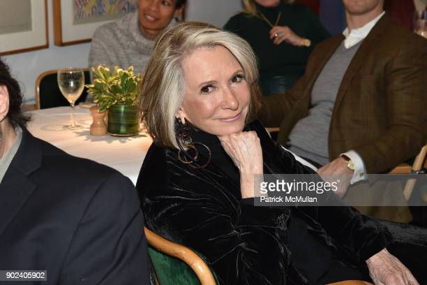 Sheila Nevins attends Joan Kron's 90th Birthday 'Take My NosePlease' Release Party at Michael's on January 7 2018 in New York City