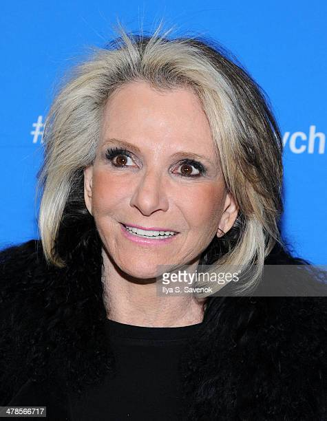 """Sheila Nevins attends """"Paycheck To Paycheck: The Life And Times Of Katrina Gilbert"""" New York Premiere at HBO Theater on March 13, 2014 in New York..."""
